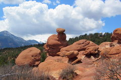 Formation de roche dans le Colorado Photos stock