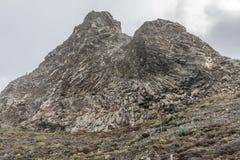 Formation de roche dans Taganana Photographie stock