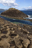 Formation de roche de basalte - Staffa - Ecosse Images stock