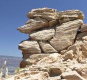 Formation de roche de canyon grand images libres de droits