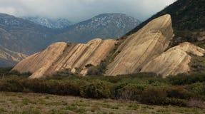 Formation de roche de grès Images libres de droits