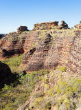 Formation de roche de Mirima près de Kunururra Photos stock