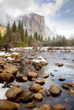 Formation de roche de Yosemite Images stock