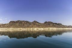 Formation de roche du Lake Mead photo stock