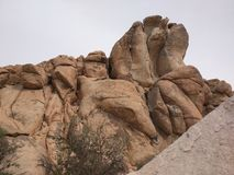 Formation de roche en Joshua Tree National Park Image libre de droits