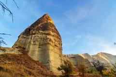 Formation de roche en vallée d'amour Cappadocia La Turquie Photos libres de droits