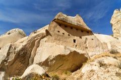 Formation de roche en vallée d'amour Cappadocia La Turquie Photographie stock libre de droits