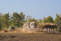 Formation de roche de feldspath Inde photos stock