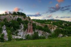 Formation de roche intéressante Photographie stock