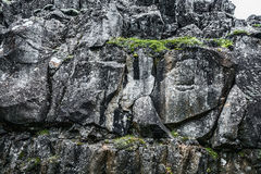 Formation de roche islandaise Photographie stock