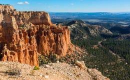 Formation de roche pittoresque dans Bryce Canyon National Park L'Utah, USA Images stock