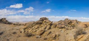 Formation de roche posée géologique de désert photo stock
