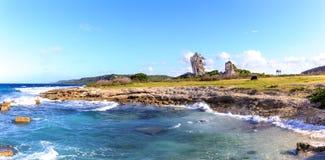 Formation de roche près de Santa Cruz del Norte Image libre de droits
