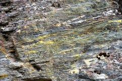 Formation de roche de Queenstown Schiste image libre de droits