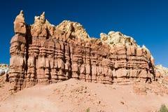 Formation de roche rouge Image libre de droits