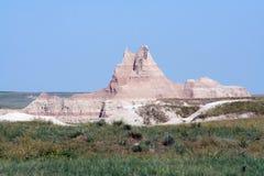 Formation de roche, stationnement national de bad-lands Images stock