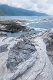 Formation de roche volcanique photographie stock
