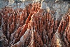 Formation de roches d'Algarve Photographie stock
