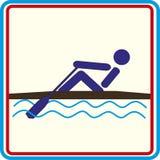 Formation de sport du monde, icône, illustrations Photographie stock libre de droits