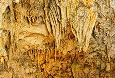 Formation de stalactites. photo libre de droits
