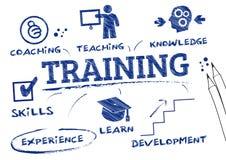 Formation, donnant des leçons particulières illustration stock