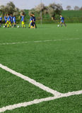 Formation du football Images libres de droits