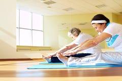 Formation en gymnastique Photo stock