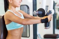 Formation en gymnastique Photos stock