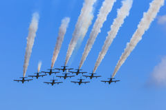Formation flight Stock Image