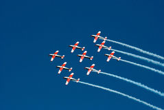 Free Formation Flying Royalty Free Stock Photo - 44640165