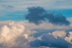 Formation foncée de nuage Photo libre de droits