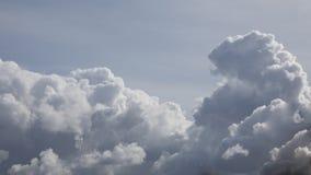Formation foncée massive de nuage de pilier avant tempête Images libres de droits