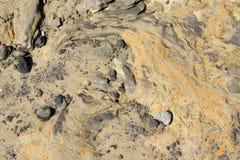 Formation géologique de sol dans les zones rurales Photos libres de droits
