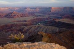 Formation géologique impressionnante Photo stock