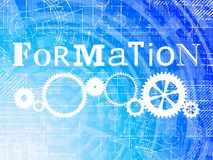Formation High Tech Background Stock Images