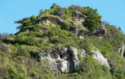 Formation. I took this picture while trakking on Mount Traranaki in New Zealand royalty free stock images