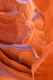 Formation, Lower Antelope Slot Canyon Royalty Free Stock Photo