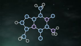 Formation Of Molecule stock footage