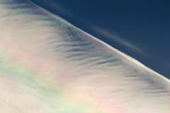 Formation peu commune de nuage Photographie stock libre de droits