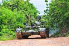 Formation pratique d'armée thaïlandaise Photo stock