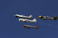 Formation. From Rygge Airshow in Norway 2009 stock photos