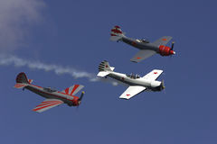 Formation. From Rygge Airshow in Norway 2009 stock photography