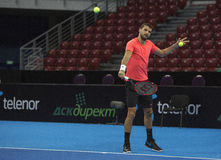 Formation sur Grigor Dimitrov Photos stock