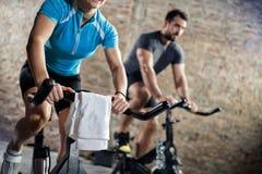Formation sur la bicyclette photo libre de droits