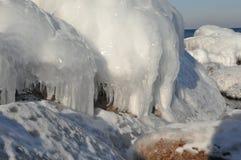 Formationer Bornholm del ghiaccio Immagine Stock Libera da Diritti