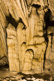 Formations of Carlsbad Cavern National Park Stock Image