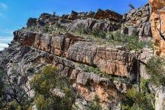 Formations de montagnes et de roche de parc national de Grampians image libre de droits