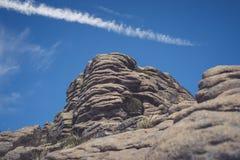 Formations de roche à la vallée d'espoir en parc national de secteur maximal, Derbyshire photo stock