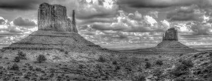 Formations de roche à la vallée de monument images stock