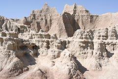 Formations de roche érodantes Images libres de droits